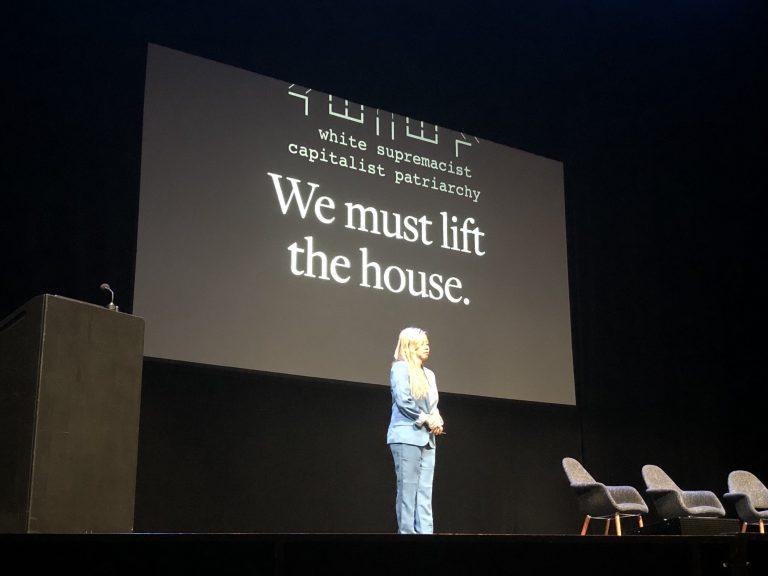 Tatiana Mac on stage at Clarity 2019